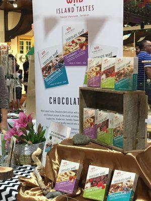 Wild Island Tastes market stall